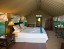 Camp Okavango bedroom