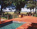 Duba Plains pool area