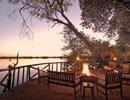 Xugana Island Lodge sunset