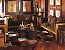 Nxabega Lodge lounge