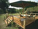 Xugana Island Lodge deck