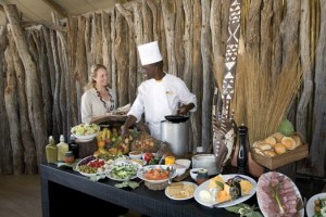 Elephant Camp dining