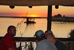 Chobe Safari Lodge at night
