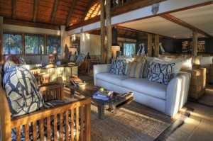 Savuti Safari Lodge lounge
