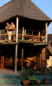 lodges in central kalahari