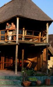 lodges in central kalahari