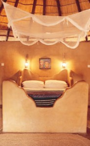 Lodge in Central kalahari