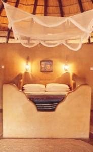 Lodge in Central kalahari