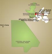 San Camp map