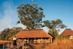 Kwando Lagoon Camp building